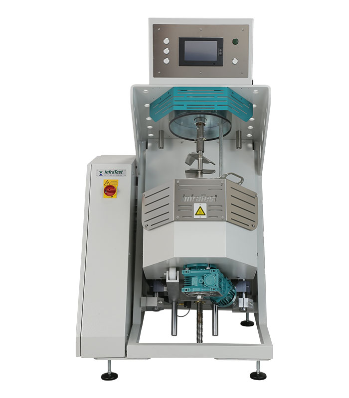 Laboratory mixer for the preparation of mastic and asphalt mixtures