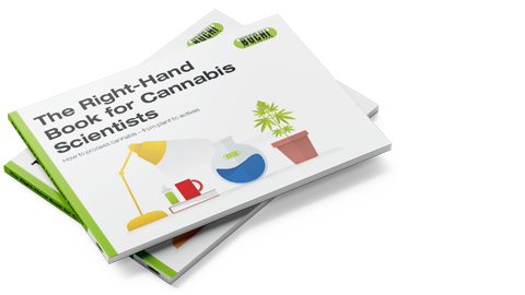 The right-hand book for cannabis scientists