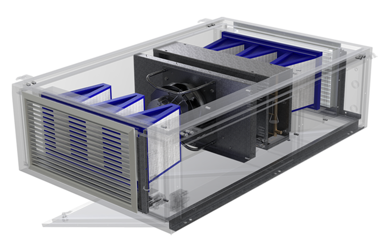 Vindur® TOP hygienic air cooling unit